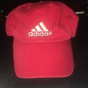 Red Adidas Dat Hat